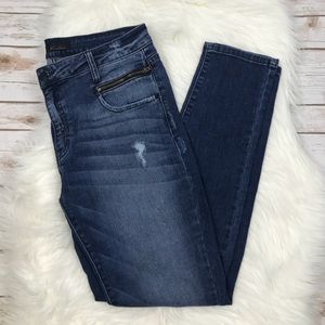 KanCan High Waist Skinny Zipper Jeans 30 K0651